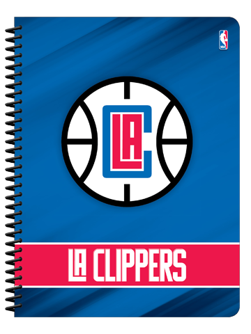 LA Clippers 1 Subject Notebook