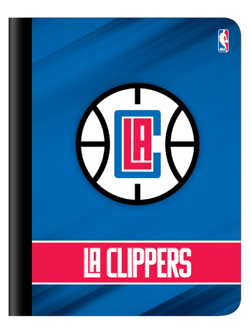 LA Clippers Composition Book