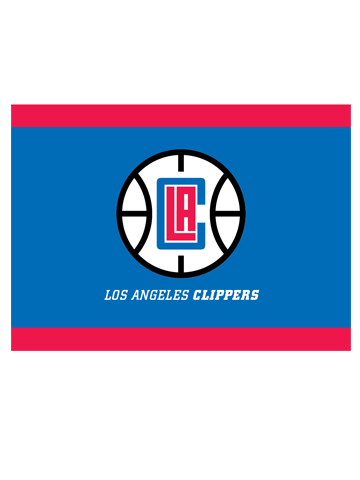 LA Clippers Note Cards 12 Pack