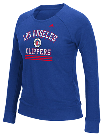 LA Clippers Women's True Stripes Crew