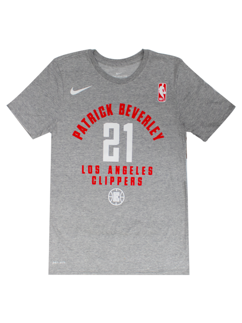 LA Clippers Patrick Beverley Heather Player T-Shirt