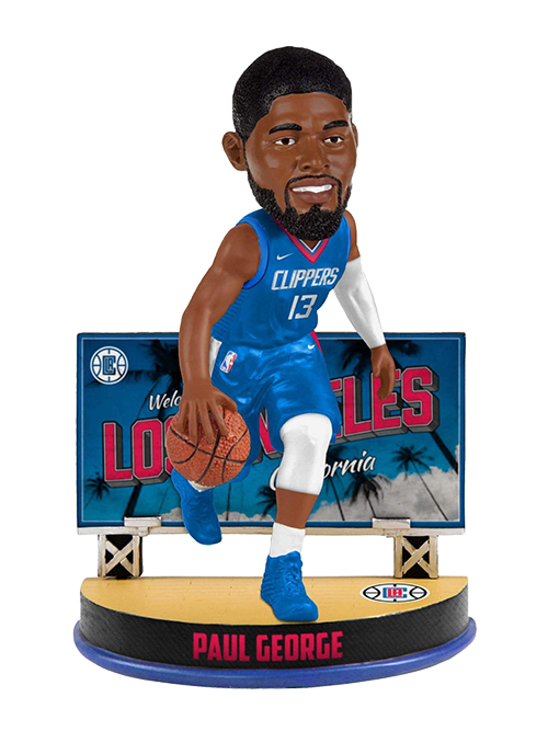 LA Clippers Paul George Billboard Bobblehead