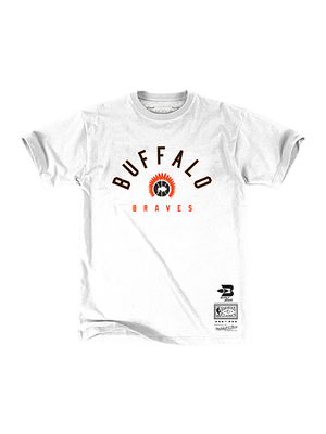 LA Clippers Classic Edition Buffalo Braves Arch One T-Shirt