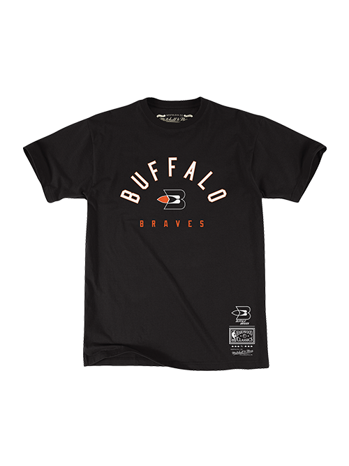 LA Clippers Classic Edition Buffalo Braves Arch T-Shirt