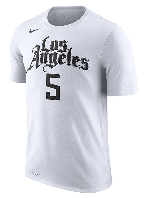 LA Clippers Montrezl Harrell City Edition Short Sleeve Player Tee - White
