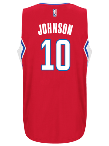 LA Clippers Brice Johnson Road Swingman Jersey