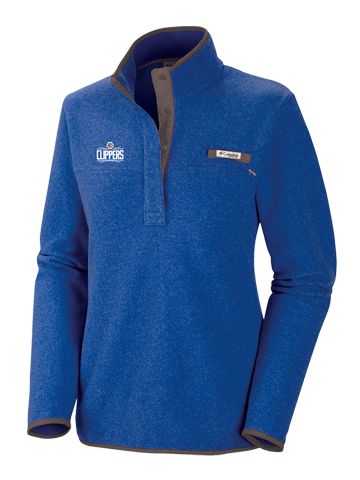 LA Clippers Women's Blue Harborside Fleece
