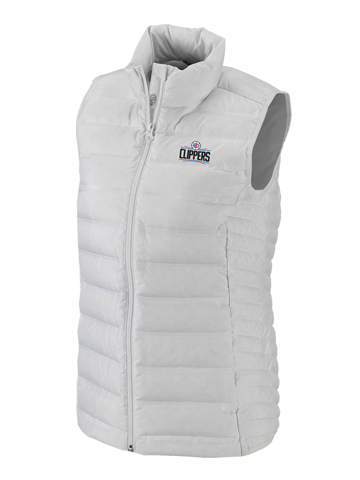 LA Clippers Womens White Lake 22 Vest