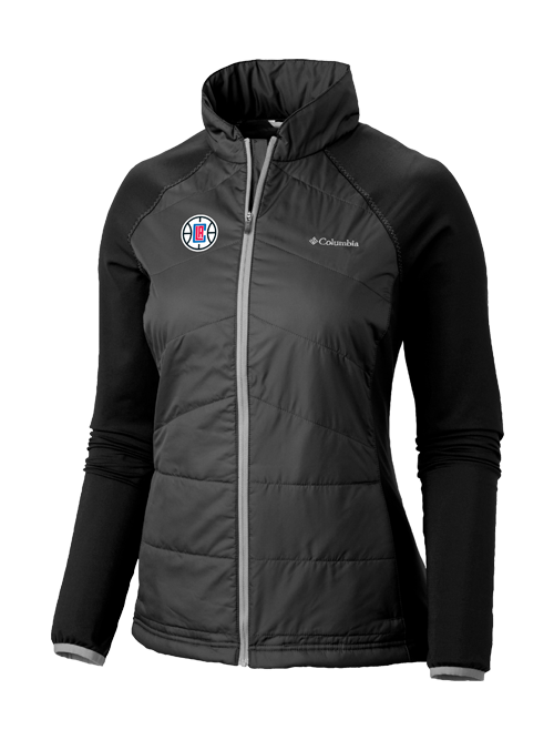 LA Clippers Women's Mach 38 Full Zip Jacket