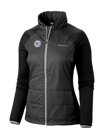 1e77045b272 LA Clippers Women s Mach 38 Full Zip Jacket