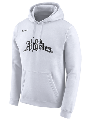 LA Clippers City Edition Logo Hoody - White