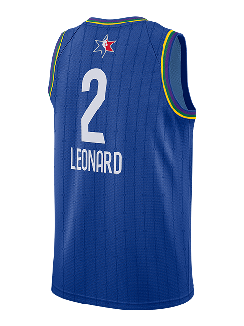 NBA All-Star 2020 Kawhi Leonard Swingman Jersey - Blue
