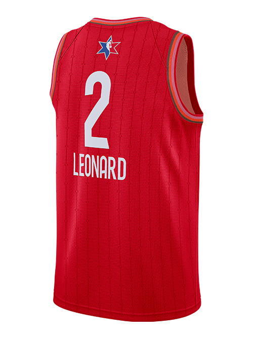 PRE-ORDER NBA All-Star 2020 Kawhi Leonard Swingman Jersey - Red