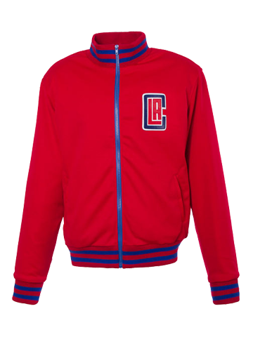 Los Angeles Clippers Varsity Track Jacket - Red