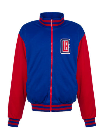Los Angeles Clippers Varsity Track Jacket - Blue/Red