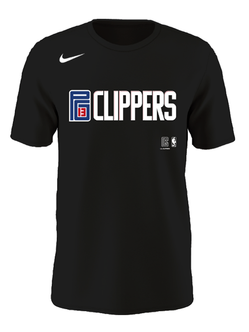 LA Clippers George New City Player SS Tee
