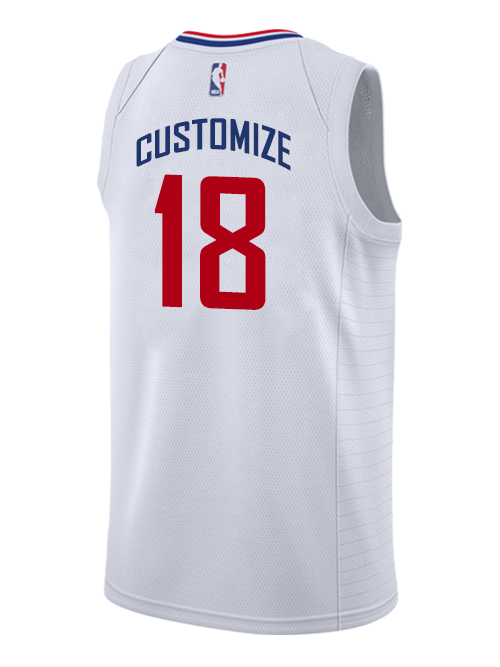LA Clippers Custom Association Swingman Jersey