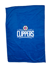 "LA Clippers Logo 60"" x 50"" Blanket"