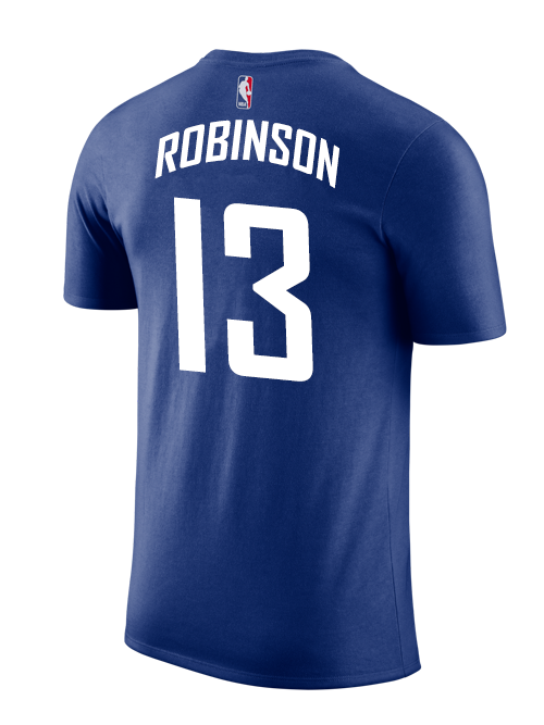 9a8d6063525b LA Clippers Jerome Robinson Icon T-shirt - Navy – Clippers Store