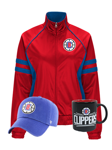 LA Clippers Women's Team Spirit Holiday Bundle
