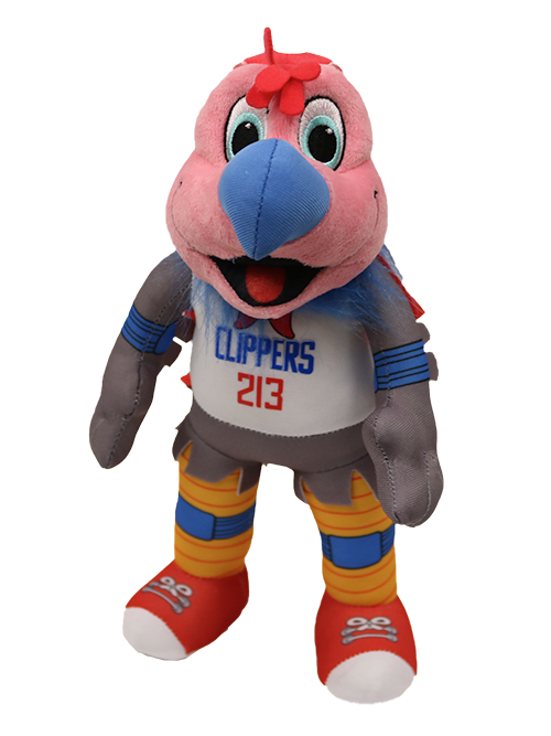 "LA Clippers Chuck 10"" Mascot Plush Figure"