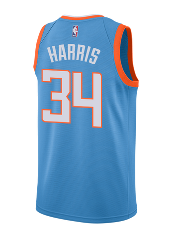 LA Clippers Tobias Harris City Edition Swingman Jersey