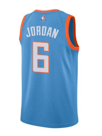 LA Clippers DeAndre Jordan City Edition Swingman Jersey