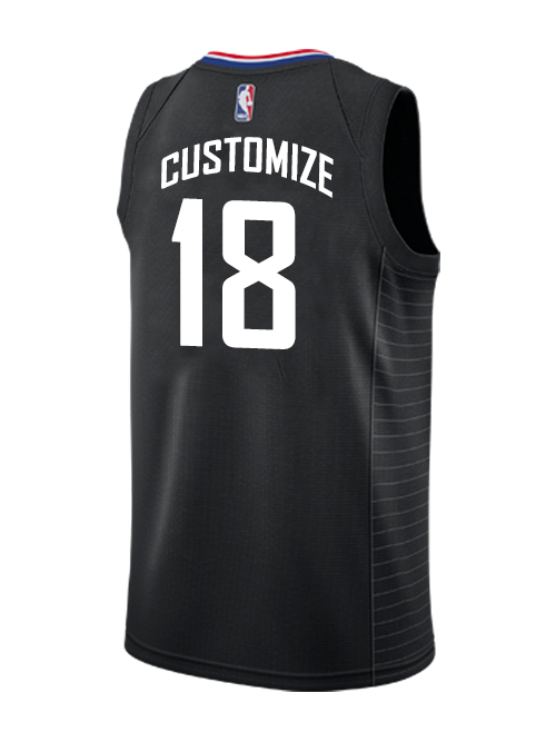 5590e28fe5c LA Clippers Custom Statement Swingman Jersey – Clippers Store