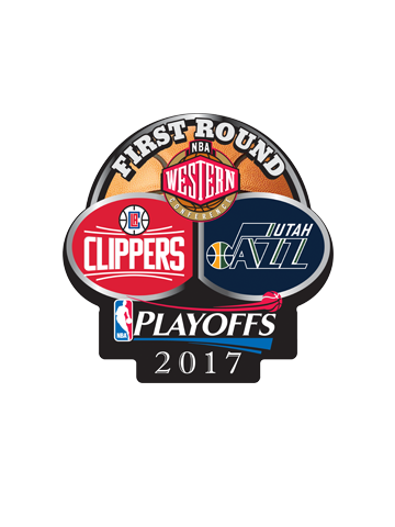 LA Clippers Playoffs First Round Dueling Pin
