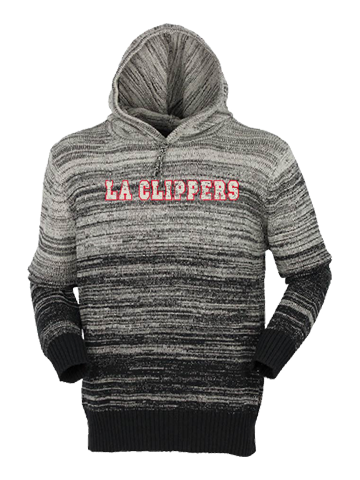 LA Clippers Gradient Hooded Sweater