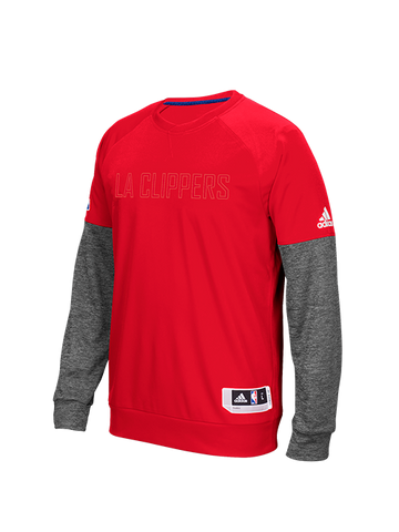 Los Angeles Clippers On Court Second Half Pullover