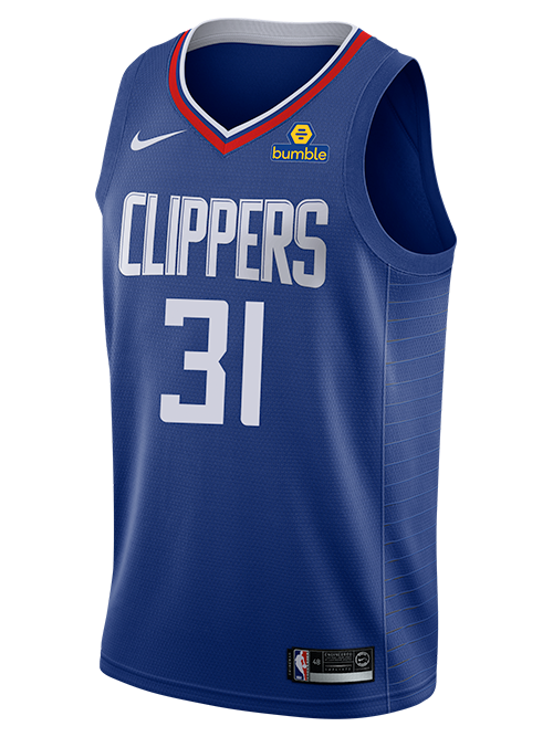 LA Clippers Marcus Morris Icon Swingman Jersey