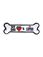LA Clippers Bone Car Magnet