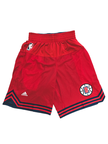 LA Clippers Authentic OC Pre Game Shorts