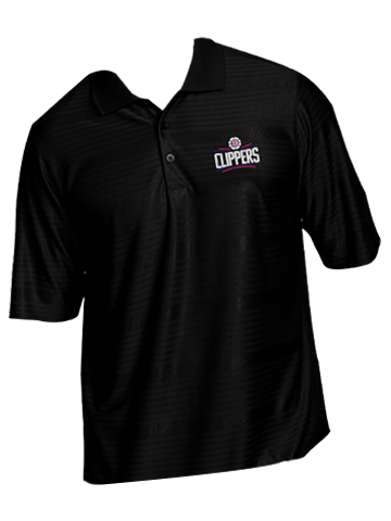 LA Clippers Primary Logo Illusion Polo