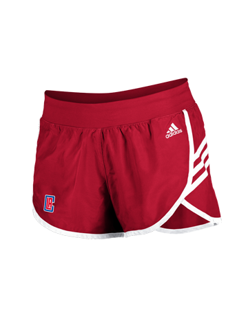 LA Clippers Women's Screen Primary Shorts
