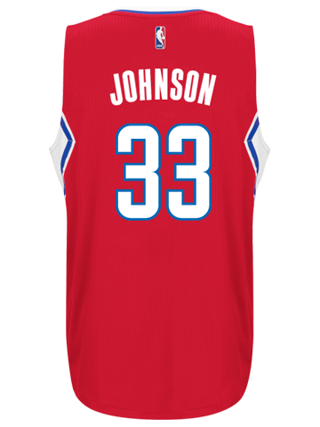 LA Clippers Wesley Johnson Road Swingman Jersey