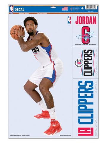 LA Clippers DeAndre Jordan Player Decal Set