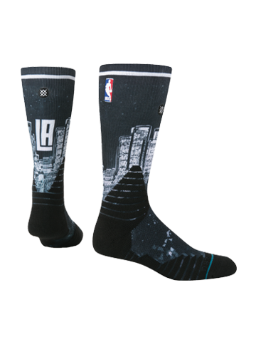 LA Clippers On Court Socks