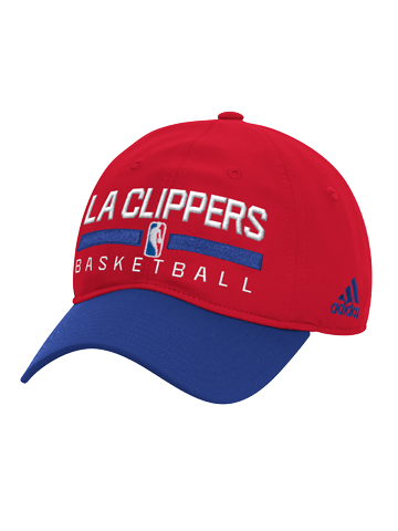 LA Clippers Practice Slouch Adjustable Cap