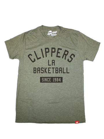 LA Clippers Military Crusher Comfy Style Short Sleeve T-Shirt