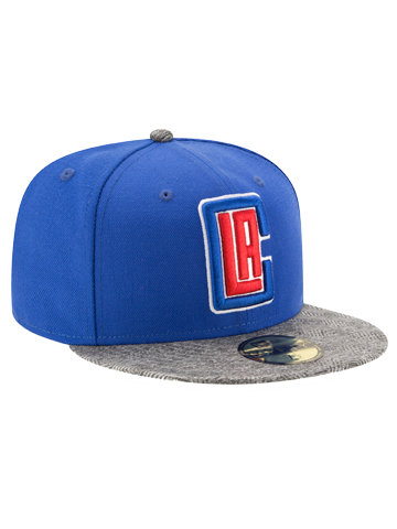 timeless design 2841a 3cda9 LA Clippers All-Star 5950 Gripping Vize Fitted Cap