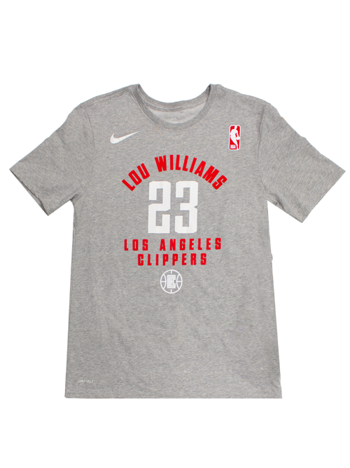 LA Clippers Lou Williams Heather Player T-Shirt