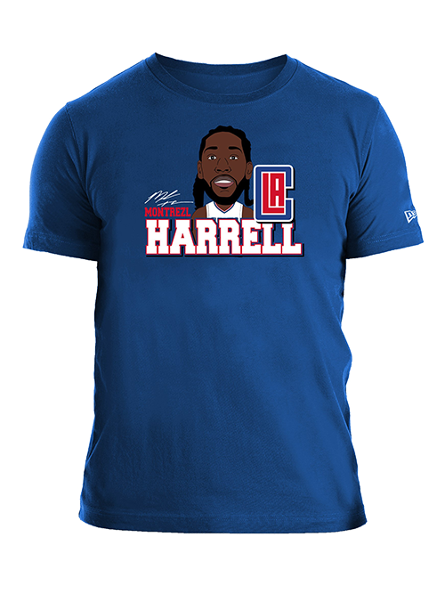 LA Clippers Montrezl Harrell Caricature T-Shirt