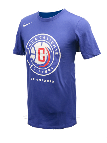 Agua Caliente Clippers Dri-Fit Cotton T-Shirt - Royal Blue