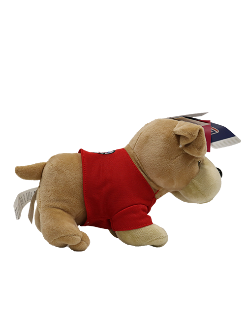 "LA Clippers 8"" Bulldog T-Shirt Plush"