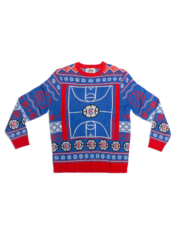 LA Clippers Ugly Knit Sweater