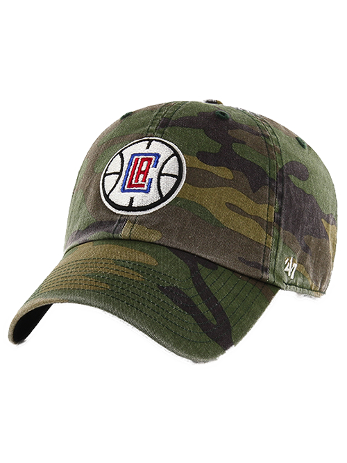 LA Clippers Camo Clean Up Adjustable Cap