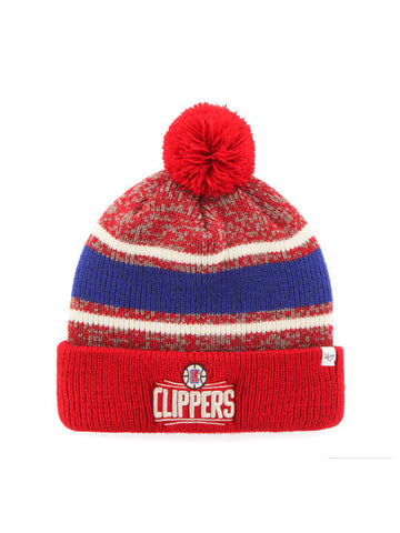 LA Clippers Fairfax Cuffed Knit With Pom