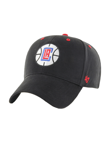 Los Angeles Clippers Fundamental 47 MVP Adjustable Cap - Black